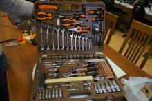Набор инструмента Ombra, 131 предмет